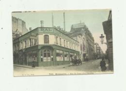 75 - PARIS - MONTMARTRE - 18 Eme Rue De Douai Bal Tabarin Animé Colorisé Bon état - District 18