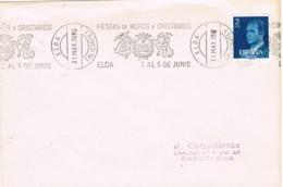 34348. Carta ELDA (Alicante) 1978. Rodillo Especial Fiestas MOROS Y CRISTIANOS - 1931-Hoy: 2ª República - ... Juan Carlos I