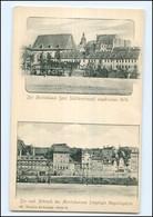 Y12122/ Alt-Leipzig  Moritzdamm AK  Ca. 1900 - Leipzig