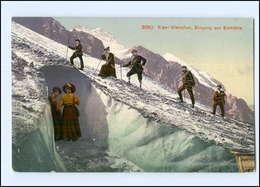 Y12143/ Eiger-Gletscher  Bergsteiger AK 1908 - Zonder Classificatie