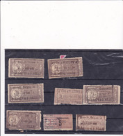 Lot De Timbres Fiscaux Indochine - Indochina (1889-1945)