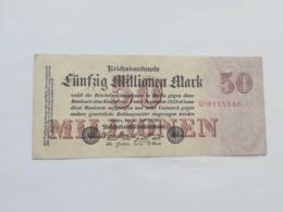 GERMANIA 50 MILLIONEN MARK 1923 - [ 3] 1918-1933 : Repubblica  Di Weimar