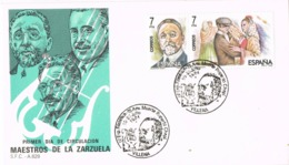 34351. Carta VILLENA (Alicante) 1984. Maestros De La Zarzuela. RUPERTO CHAPI - 1931-Hoy: 2ª República - ... Juan Carlos I