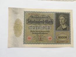 GERMANIA 10000 MARK 1923 - [ 3] 1918-1933: Weimarrepubliek