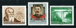 Alemania Oriental Nº 135-163-169 Nuevo Cat.10,25€ - [6] Democratic Republic