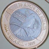 LSJP BRAZIL FIVE COINS 1 REAL - Brazil