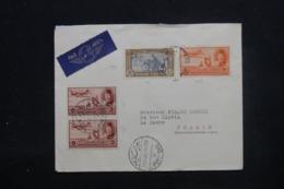 EGYPTE - Enveloppe De Port Saïd Pour La France En 1941 Par Avion, Affranchissement Plaisant - L 45290 - Covers & Documents