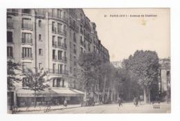 75 Paris XIVème N°61 Avenue De Chatillon En 1931 VOIR ZOOM Auto Ancienne Bière De La Comète A La Porte De Chatillon - District 14