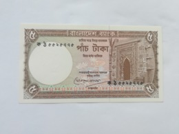 BANGLADESH 5 TAKA - Bangladesh