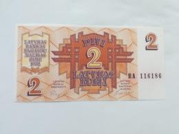 LETTONIA 2 RUBLI 1992 - Latvia