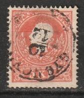 Autriche N° 8, Type I - Usati