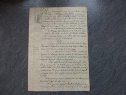 86 Saint-Benoît Mauroc 1872, Accident Mortel Chemin De Fer Boutiller Du Rétail  Ref  839 ; PAP09 - Historical Documents