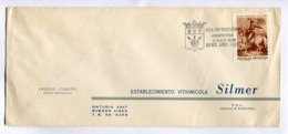 ARGENTINA COMMERCIAL COVER - CIRCULATED FROM BUENOS AIRES, YEAR 1970. FDC MANUEL BELGRANO DIA DE EMISION -LILHU - Storia Postale