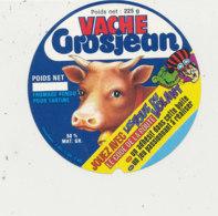 W 184 / ETIQUETTE  FROMAGE VACHE GROSJEAN  LE CODE DE LA ROUTE - Fromage