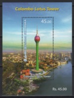 Sri Lanka (2019)  - Block -   /  Tourism - Heritage - Patrimonio - Colombo Lotus Tower - Architecture - Architektur