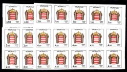 Monaco Timbres Taxe YT N° 83/86 Non Dentelés En Blocs De 10 Neufs ** MNH. TB. A Saisir! - Strafport