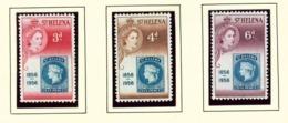 ST HELENA - 1956 Stamp Centenary Set Unmounted/Never Hinged Mint - Saint Helena Island