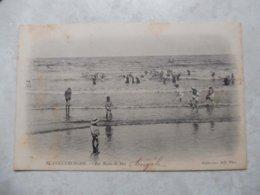 Cpa Blankenberghe Les Bains De Mer Animée 1905 - Blankenberge