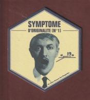 SOUS BOCK De BIERE - HOEGAARDEN SYMPTOME D'ORIGINALITE N°1 - Bière Blanche BELGE - 11 Cm De Large - Voir Les 2 Scannes - Sous-bocks