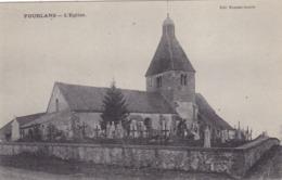Saône-et-Loire - Pourlans - L'église - France