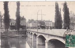 77. MELUN. CPA . LE PONT DE PIERRE .ANNÉE 1908 - Melun