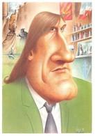 Bernard VEYRI - Caricature Gérard DEPARDIEU - Veyri, Bernard