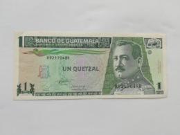 GUATEMALA 1 QUETZAL 1993 - Guatemala