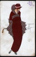 ILLUSTRATEUR  , Femmes Avec Chapeau - 1900-1949