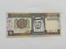ARABIA SAUDITA 1 RIYAL 1984 - Arabia Saudita