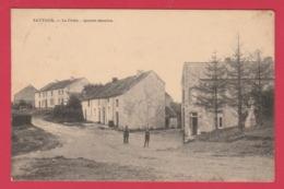 Sautour - La Croix - Quatre Chemins  -1930 ( Voir Verso ) - Philippeville