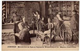 AUBUSSON - MANUFACTURE DE TAPIS ET TAPISSERIES, BRUNSCHWIG ET FILS - MAGASIN D'ASSORTIMENT - Vedi Retro - Aubusson
