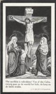 Jeanne F Trappeniers-corbeek-loo-bouchout 1927 - Devotion Images