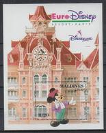 B699. Maldives - MNH - Cartoons - Disney's - Characters - Architecture - 2 - Disney