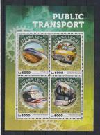B304. Sierra Leone - MNH - 2016 - Transports - Cars - Public Transport - Voitures
