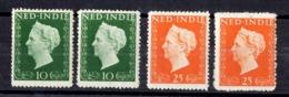 Indes Néerlandaises YT N° 326/327 Neufs * (2). B/TB. A Saisir! - Niederländisch-Indien