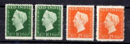 Indes Néerlandaises YT N° 326/327 Neufs * (2). B/TB. A Saisir! - Netherlands Indies