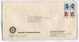 "ARGENTINA COMMERCIAL COVER - CIRCULATED FROM ""ROTARY INTERNACIONAL"" RAFAELA, SANTA FE TO LA PLATA. YEAR 1975 -LILHU - Argentina"