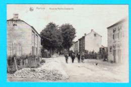 CPA MARLOIE : Route De Marche - Charleville - Circulée 1920 - Ed.Hôtel Lambert, Marloie - 2 Scans - Marche-en-Famenne