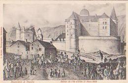 Vizille   1249        Napoléon à Vizille. Retour De L'Île D'Elbe - Vizille