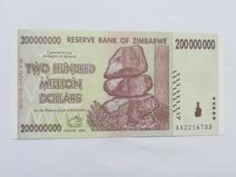 ZIMBABWE 200000000 DOLLARS 2008 - Simbabwe