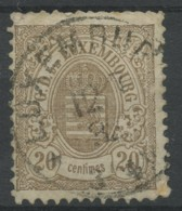 Luxembourg (1880) N 44 (o) - 1859-1880 Coat Of Arms