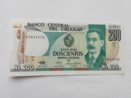 URUGUAY 200 PESOS 1986 - Uruguay