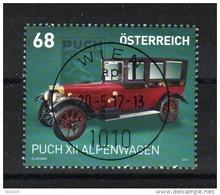 """Österreich 2017: """" Puch XII Alpenwagen"""" Gestempelt (siehe Foto/Scan) - 2011-... Ungebraucht"""