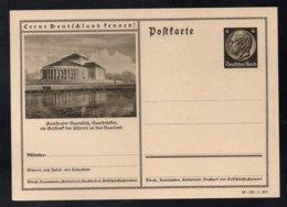 """ALLEMAGNE - III REICH - SAARBRÜCKEN / 1939 ENTIER POSTAL ILLUSTRE # 39-133-1-B5 """"LERNT DEUTSCHLAND KENNEN"""" (ref 7739b) - Allemagne"""