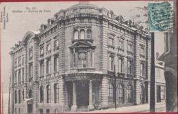 Canada Quebec Ville Bureau De Poste (pli) - Québec - La Cité