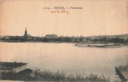 Allemagne Beuel Bonn Panorama Cpa Carte Ecrite En 1924 - Bonn