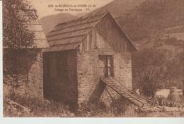 C. P. - ST ETIENNE DE TINEE - REFUGE EN MONTAGNE - 979 - FABRE - - Saint-Etienne-de-Tinée