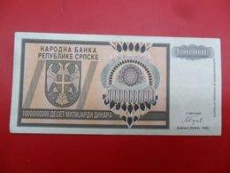 NB Republika Srpska 10,000,000,000 Dinara 1993, P-148a, Price For 1 Pcs - Bosnia And Herzegovina