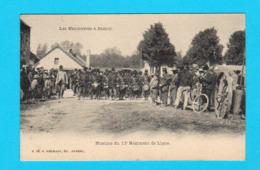 Les Manoeuvres à NAMUR ( Avant 1905 ) : Musique Du 13e Régiment De Ligne - N 18 G. Herman éd. Anvers - TB - Namur