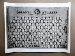 Grande Manifesto Soldati D'Italia Polinago Appennino Modena Anni '40 WW2 Guerra - Old Paper
